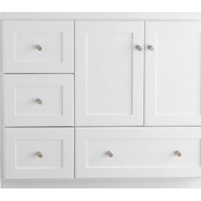 Shaker Cabinet 36 Single Bathroom Vanity Base Finish: White