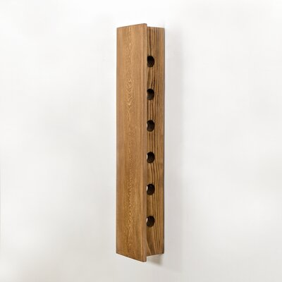 Benbrook 6 Bottle Wall Mounted Wine Rack Color: Natural