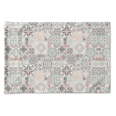 Burroughs Tiles Pillow Case Size: 20 H x 30 W x 0.25 D