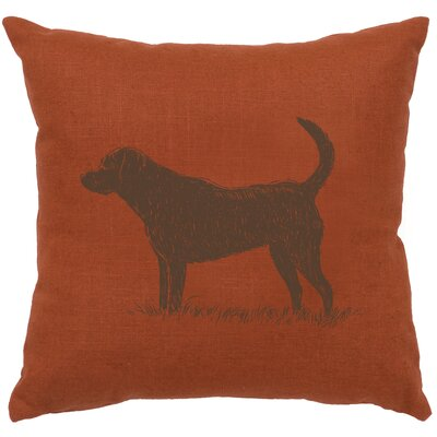 Fendley Lab Throw Pillow Color: Paprika