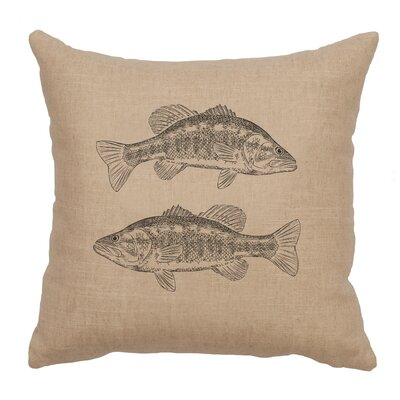 Eanes Throw Pillow Color: Natural