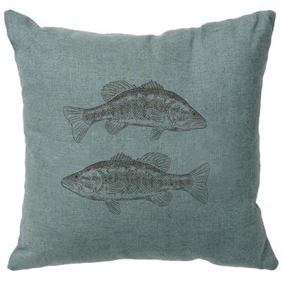 Eanes Throw Pillow Color: Ocean
