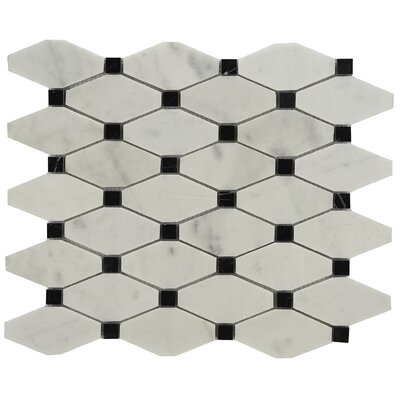 Chevy Marble Tile in Black/White
