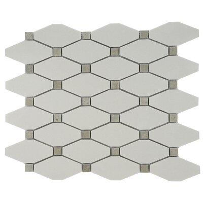 Chevy Marble Tile in Gray/White