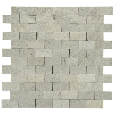 Mini Brick Marble Tile in Natural Stone