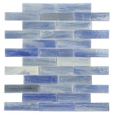 Laguna Glass Mosaic Tile in Blue