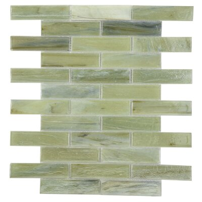 Laguna Glass Mosaic Tile in Taupe