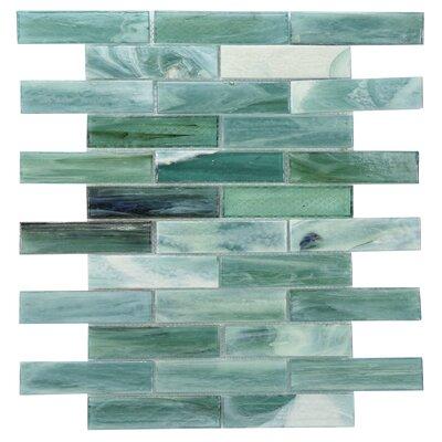 Laguna Glass Mosaic Tile in Green