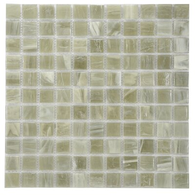 Wake Forest Glass Mosaic Tile in Tan