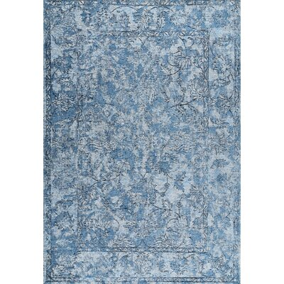 Charette Blue Area Rug Rug Size: Rectangle 53 x 8