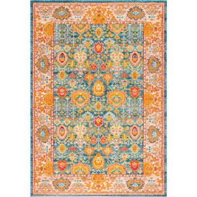 Chaidez Orange Area Rug Rug Size: Rectangle 710 x 11