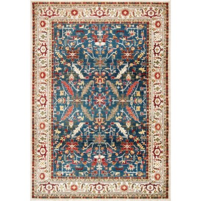 Durdham Park Blue Area Rug Rug Size: Rectangle 9 x 12