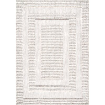 Budd Beige Area Rug Rug Size: Rectangle 53 x 76