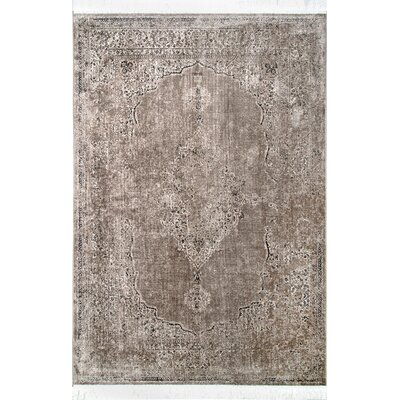 Bradford Light Brown Area Rug Rug Size: Rectangle 76 x 96