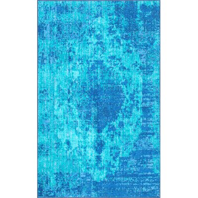 Chamberland Blue Area Rug Rug Size: Rectangle 5 x 8