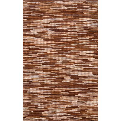 Olander Hand-Woven Light Brown Area Rug Rug Size: Rectangle 5 x 8