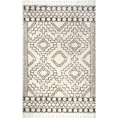 Lederer Off-White Area Rug Rug Size: Rectangle 4 x 6