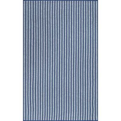 Buckman Navy Area Rug Rug Size: Rectangle 76 x 96