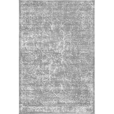 Cerrone Dark Gray Area Rug Rug Size: Rectangle 53 x 77