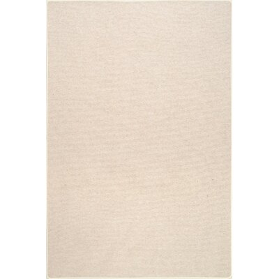 Stafford Wool Ivory Area Rug Rug Size: Rectangle 76 x 96