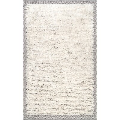 Lolotoe Ivory Area Rug Rug Size: Rectangle 76 x 96