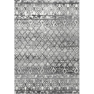 Caulfield Dark Gray Area Rug Rug Size: Rectangle 5 x 75