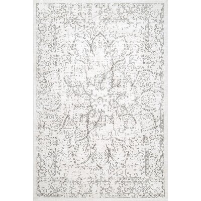 Cerrato Ivory Area Rug Rug Size: Rectangle 8 x 10