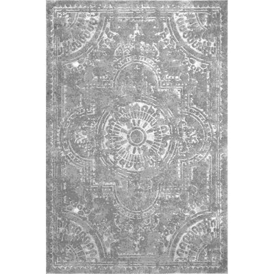 Ceron Dark Gray Area Rug Rug Size: Rectangle 53 x 77