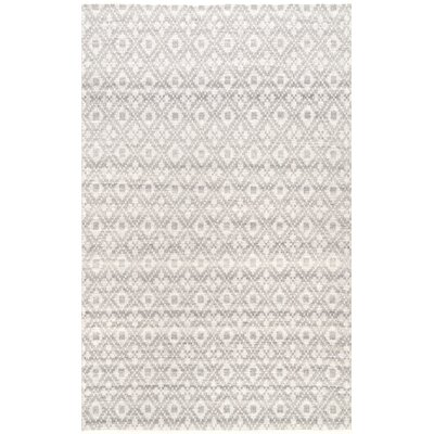 Lomanto Gray Area Rug Rug Size: Rectangle 76 x 96