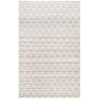Lomanto Gray Area Rug Rug Size: Rectangle 5 x 8