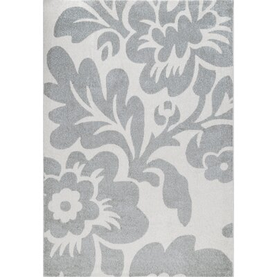 Kattie Gray Area Rug Rug Size: Rectangle 5 x 8