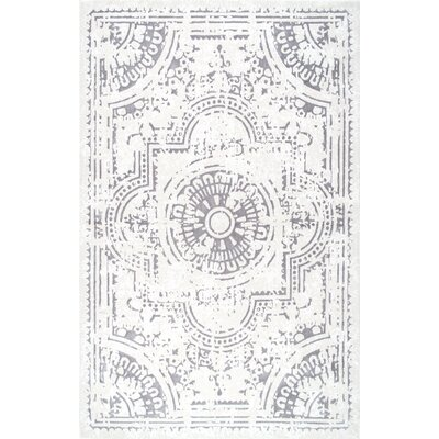 Cerny Ivory Area Rug Rug Size: Rectangle 8 x 10