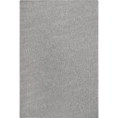Candelario Gray Area Rug Rug Size: Rectangle 5 x 75