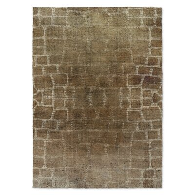 Eckhart Brown Area Rug Rug Size: Rectangle 3 x 5