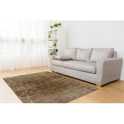 Eckhart Brown Area Rug Rug Size: Rectangle 5 x 7
