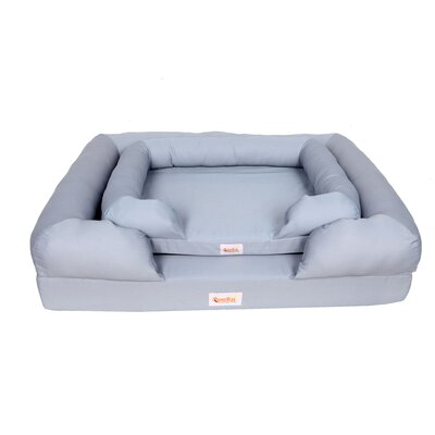 Memory Foam Dog Bed Bolster Size: 5.5