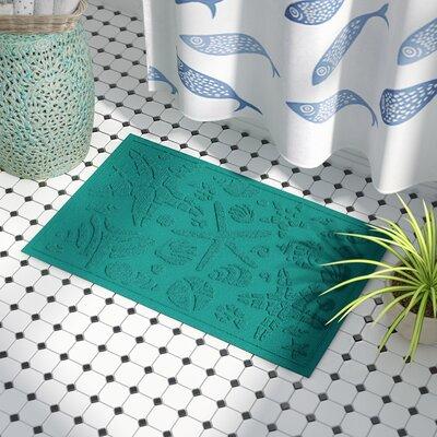 Anitra Beachcomber Doormat Color: Aquamarine