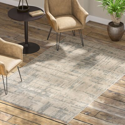 Elyse Taupe & Gray Area Rug Rug Size: 5 x 8