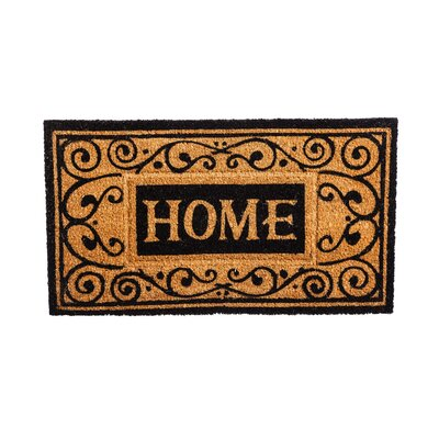 Columbard Debossed Home Coir Doormat