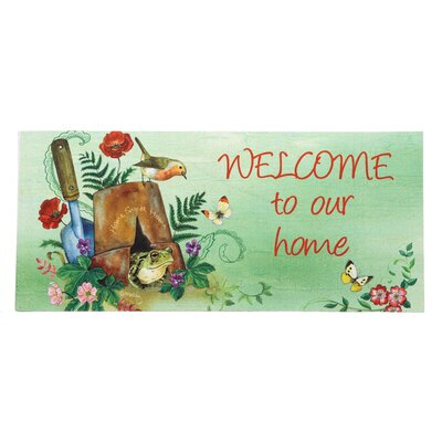 Borrero Welcome Our Home Sassafras Switch Doormat