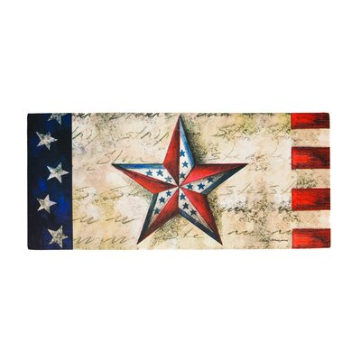 Borrero Stars on Star Sassafras Switch Doormat