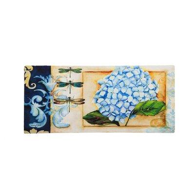 Sabelina Hydrangea Sassafras Switch Doormat
