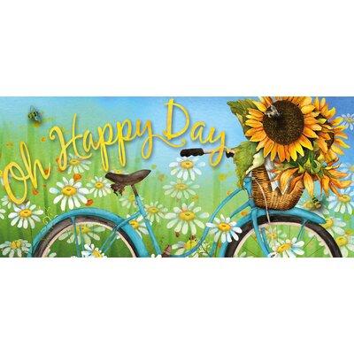 Borrero Happy Day Sunflowers Sassafras Switch Doormat