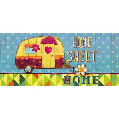 DeLussey Home Sweet Home Trailer Sassafras Switch Doormat