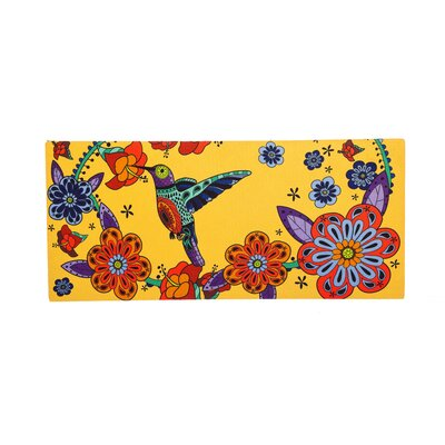 Feldt Hummingbird Sassafras Switch Doormat