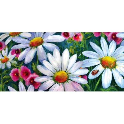 Borrero Big Daisies Sassafras Switch Doormat