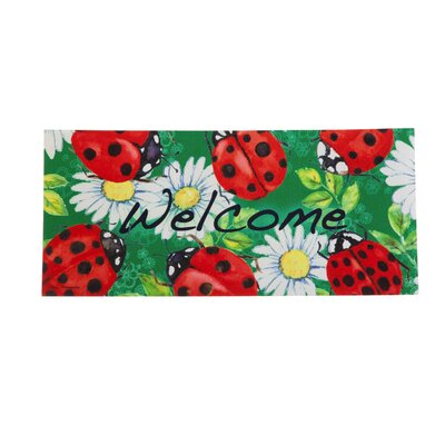 DeLussey Ladybugs Sassafras Switch Doormat