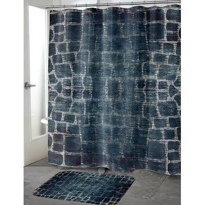 Chittening Shower Curtain Size: 70 H x 90 W