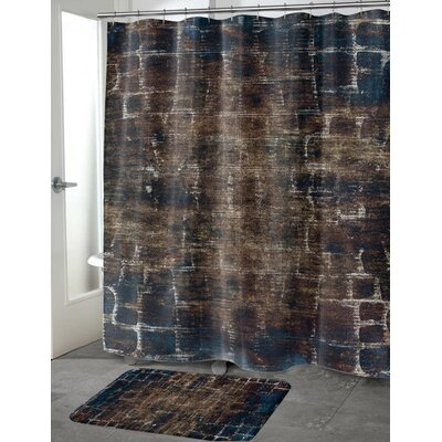 Eckhart Shower Curtain Color: Tan, Size: 70 H x 90 W