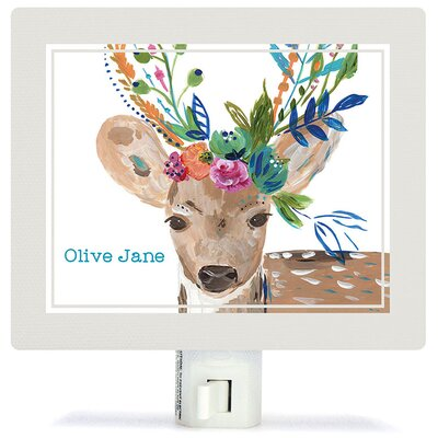 Boho Deer Night Light